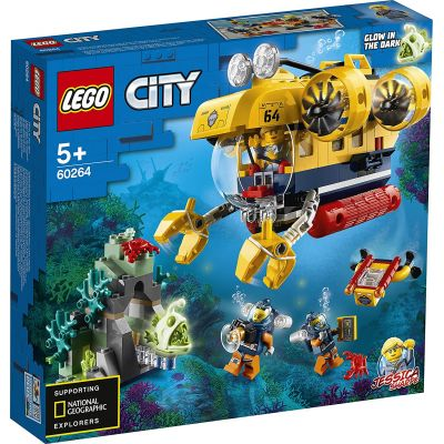 LEGO CITY  SUBMARIN DE EXPLORARE A OCEANULUI 60264