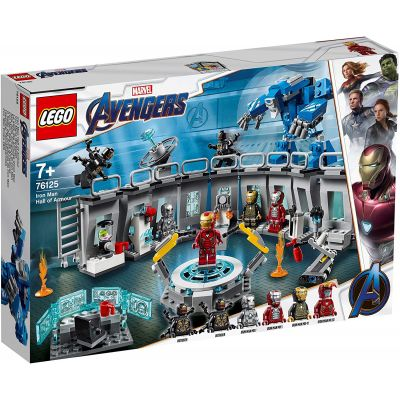 LEGO SUPER HEROES IRON MAN - SALA ARMURILOR 76125