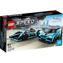 LEGO SPEED CHAMPIONS FORMULA E PANASONIC JAGUAR RACING GEN2 CAR SI JAGUAR I-PACE ETROPHY 76898